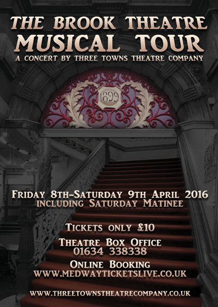 Three Towns Theatre Company Musical Concert live April 2015 at The Brook Theatre Chatham